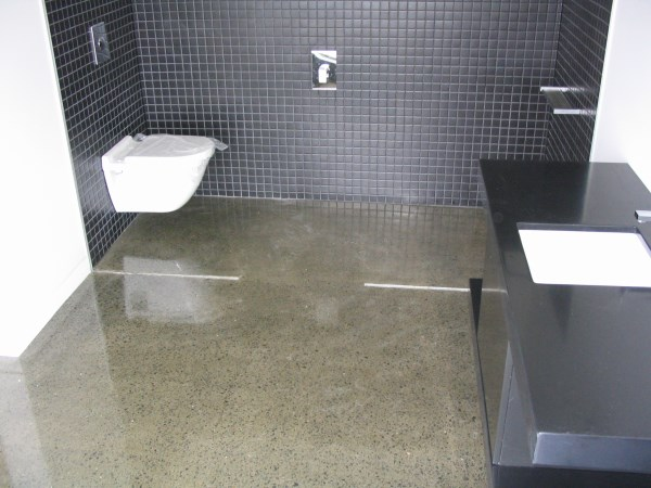 Polished concrete concrete grinding sydney cairns tasmania maryborough central coast for Polished concrete floor bathroom